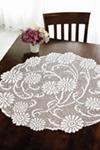 Art Nouveau Daises Table Topper 100px
