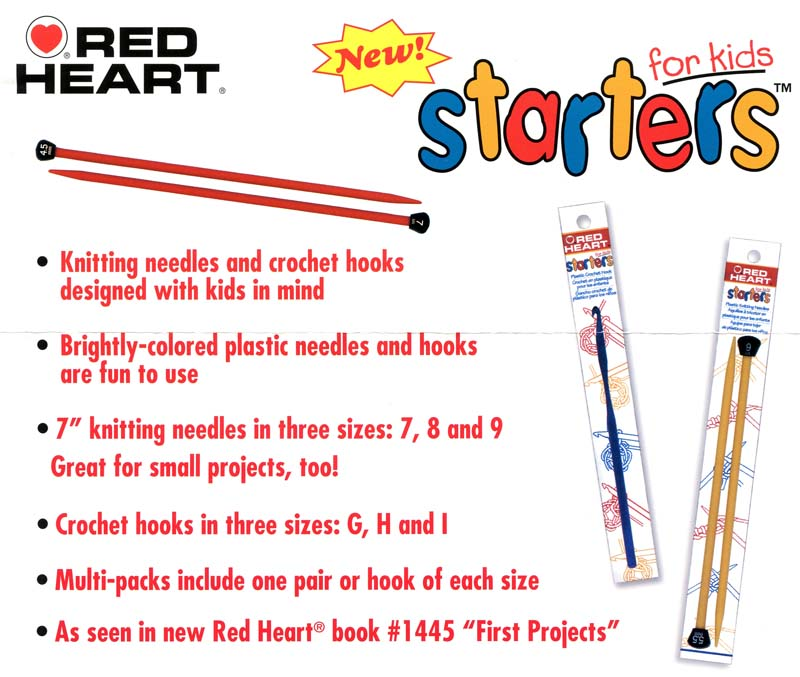 Red Heart Starters -Lace Buttons