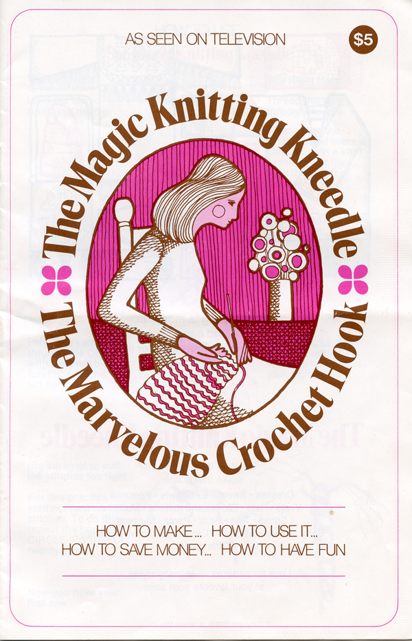 Magic Knitting Kneedle instruction book p 1 600px
