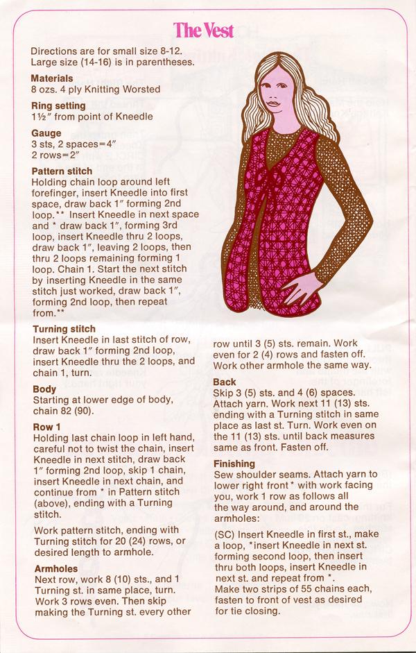 Magic Knitting Kneedle instruction book p 4 600px