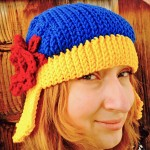 Carol Danvers' Lucky Hat pattern in crochet
